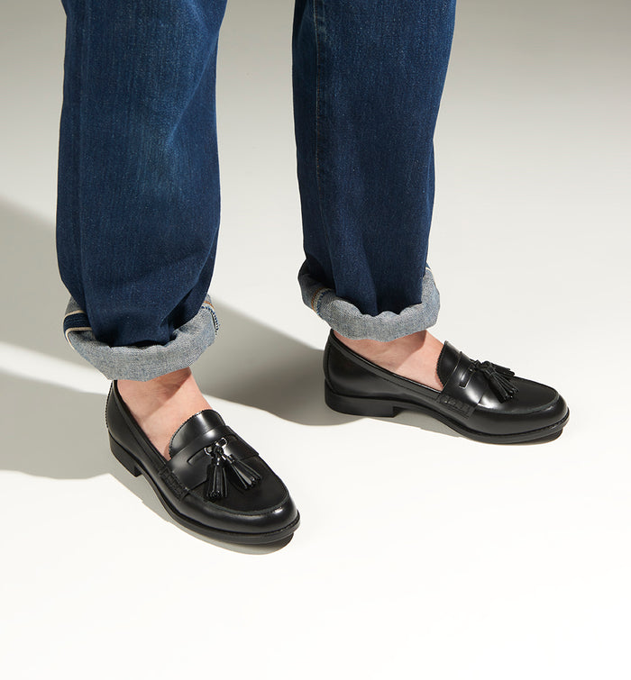 Radical Yes 'Liberation' Penny Loafer - Black Tassel