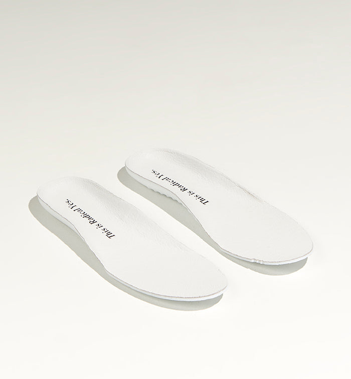 Removable Athletic Inner sole- Leather