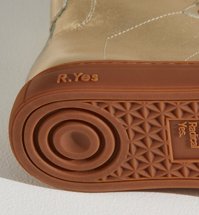 Radical Yes 'Saturn Returns' - Gold Leather