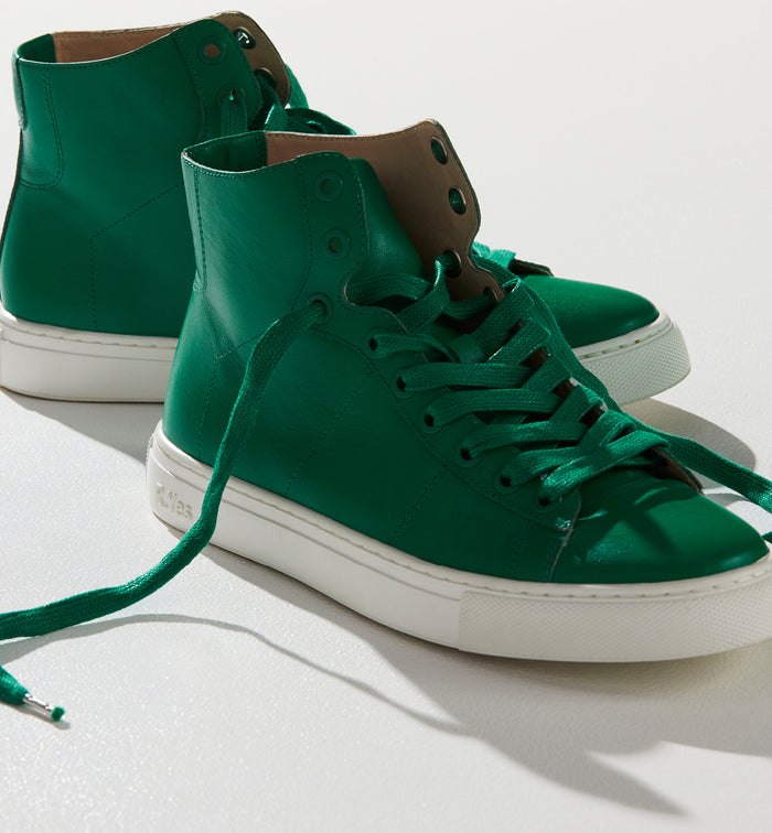 Radical Yes 'Saturn Returns' - Jade Green Leather