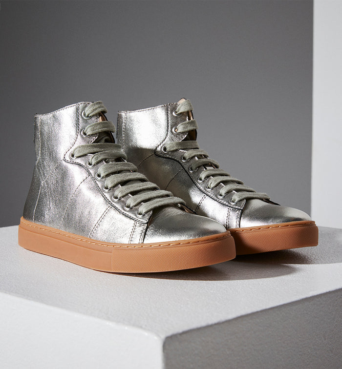 Radical Yes 'Saturn Returns' - Metallic Leather.