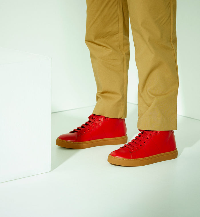 Radical Yes 'Saturn Returns' - Red Leather.