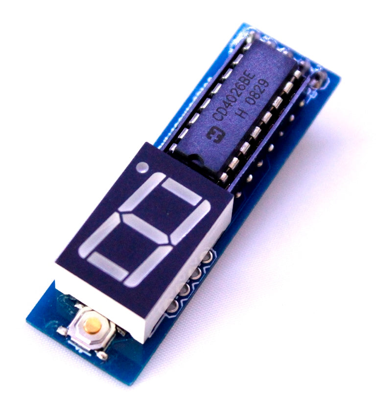 CD4026- 1 digit up counter module