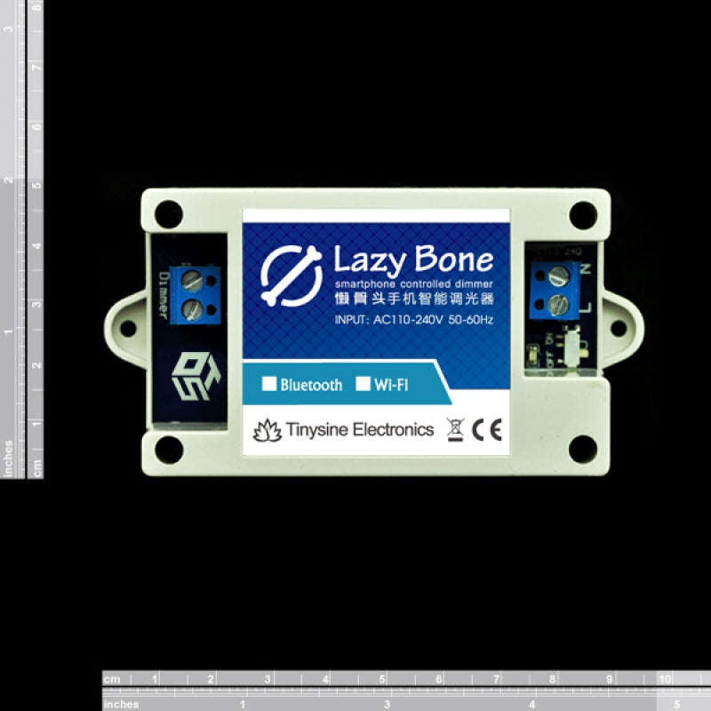 SmartPhone Controlled Light Dimmer - LazyBone Dimmer (Bluetooth)