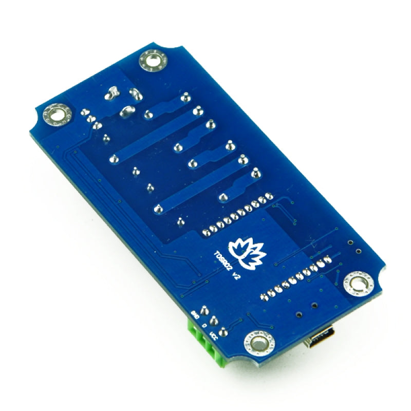 TOSR02-T - 2 Channel USB/Wireless 5V Relay Module (Temperature Sensor Support )