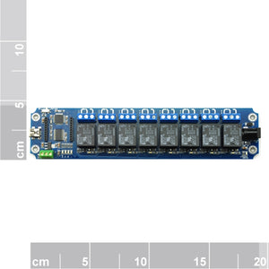TOSR08-D - 8 Channel USB/Wireless Timer Relay Module Xbee Control Kit
