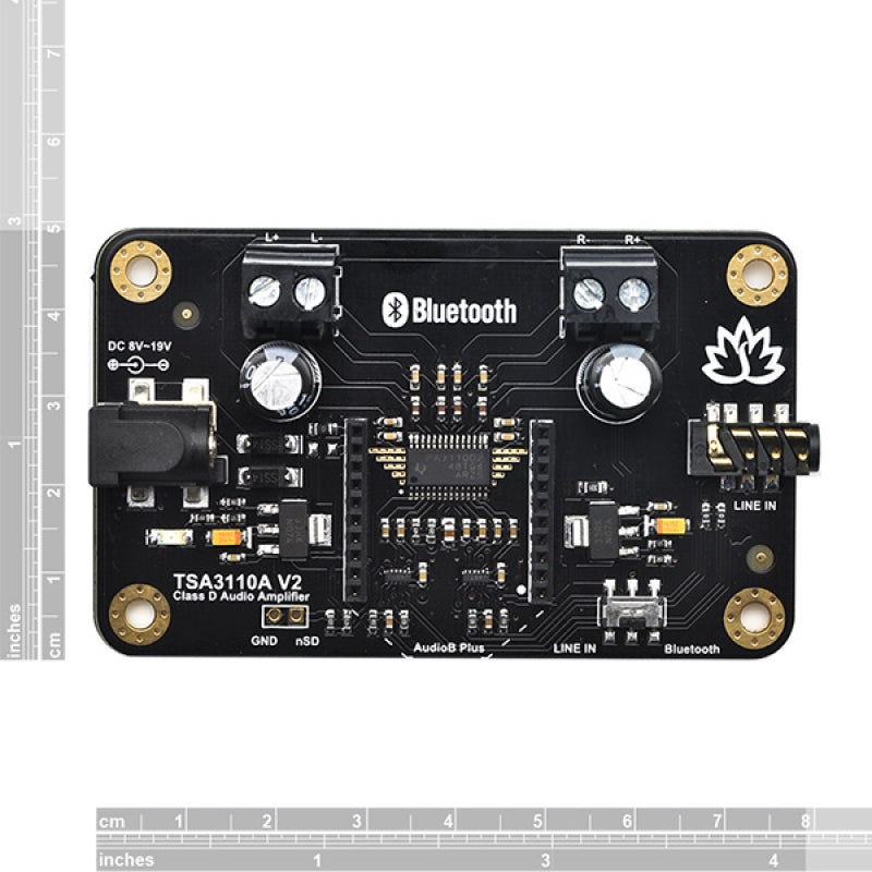 2 x 8 Watt Class D Bluetooth Audio Amplifier Board - TSA3110A V2