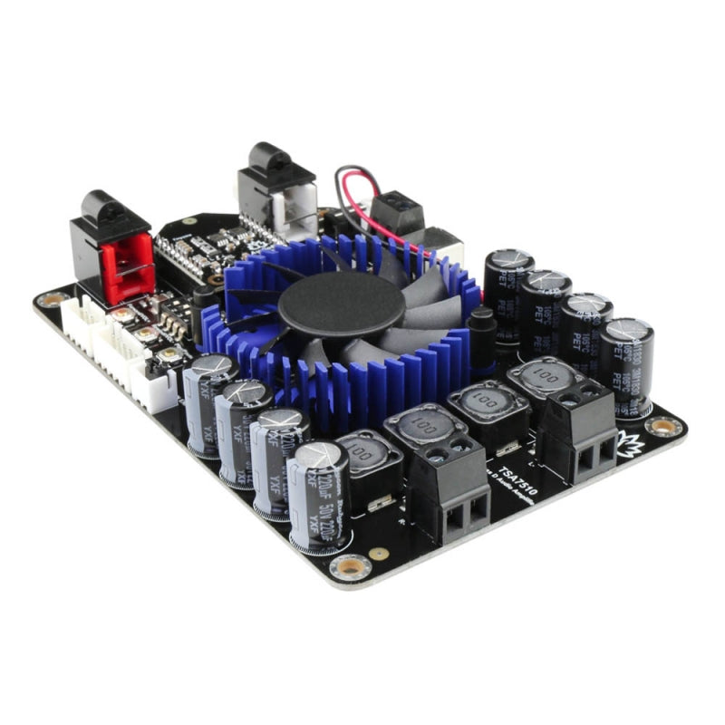 2 x 100W Class D Bluetooth Audio Amplifier Board - TSA7510