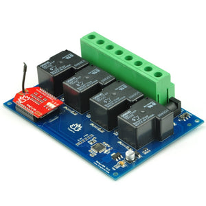 TSRW430- 4 Channel Wi-Fi Smartphone Controlled 30A Relay Board with Enclosure