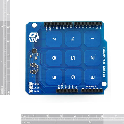 Arduino Touch Pad Shield