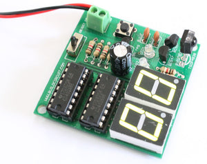 2 Digit Digital Object Counter module and Infrared Transmitter
