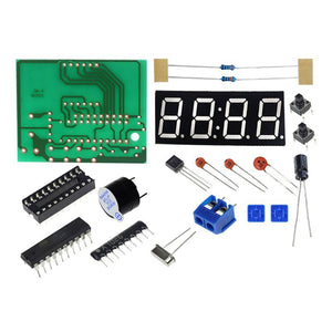 STC12C2052 Digital Clock DIY Electronic Kit-Digital Clock with Alarm