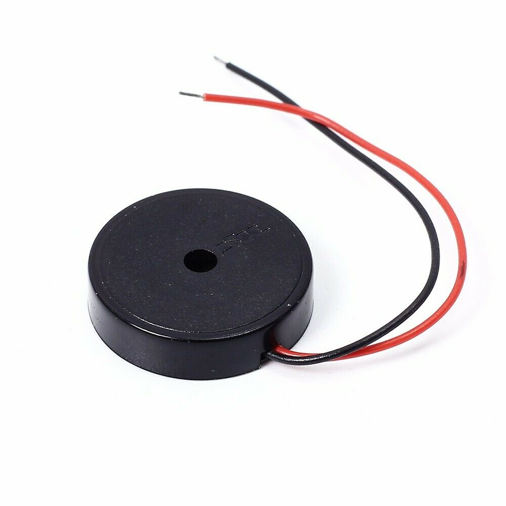 Black Piezo Piezoelectric Passive Buzzer Speaker Alarm 16x4mm