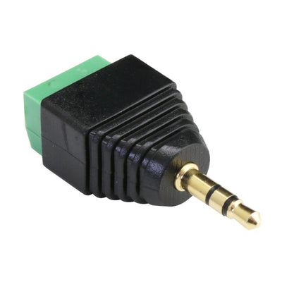 Stereo Audio Jack to Screw Terminal Adapter