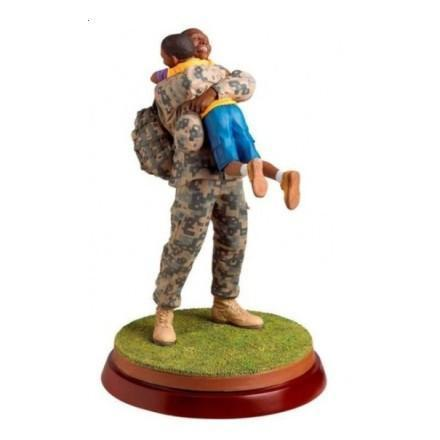 Black Military Figurine Collection