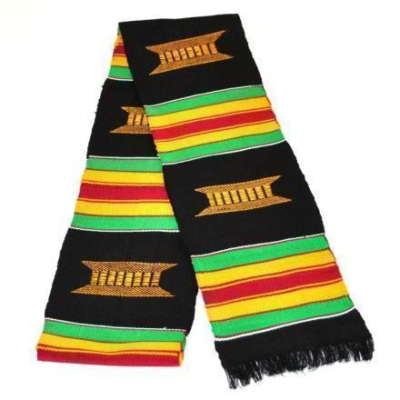 African American Graduation Stoles