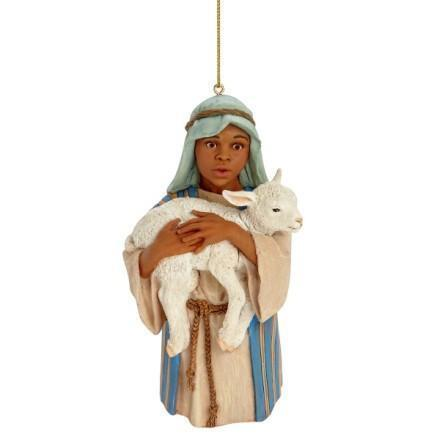 African American Nativity Ornaments