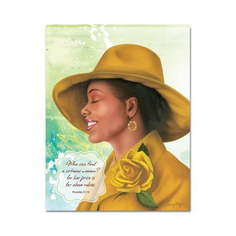 African American Canvas Wallhangings