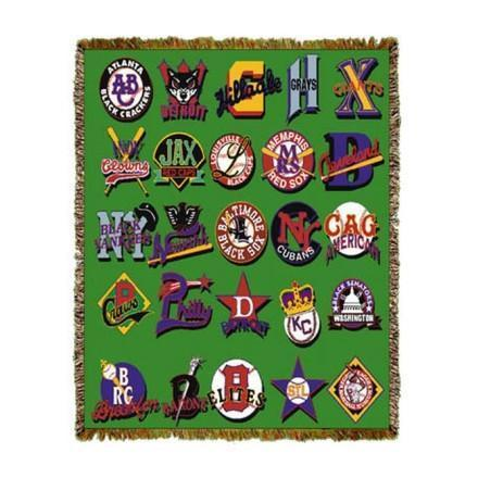 Negro League Baseball Tapestry Throws and Gifts