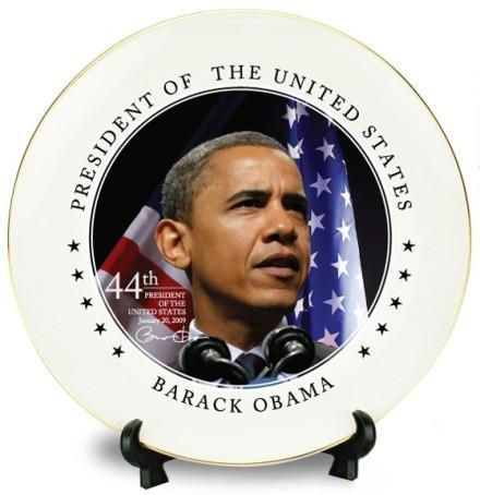 Barack Obama Commemorative Plates