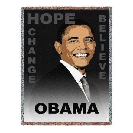 Barack Obama Tapestry Throws and Gifts