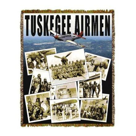 Tuskegee Airmen Tapestry Throws and Gifts