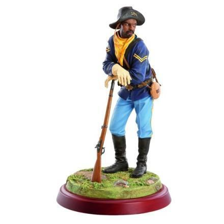 Buffalo Soldier Figurine Collection