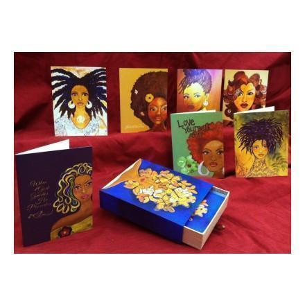 African American Note Card Sets