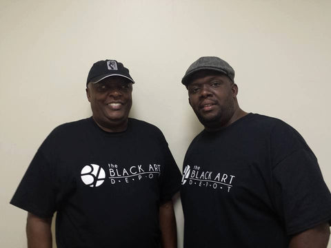 Marcus and Roy Cuttino, The Black Art Depot