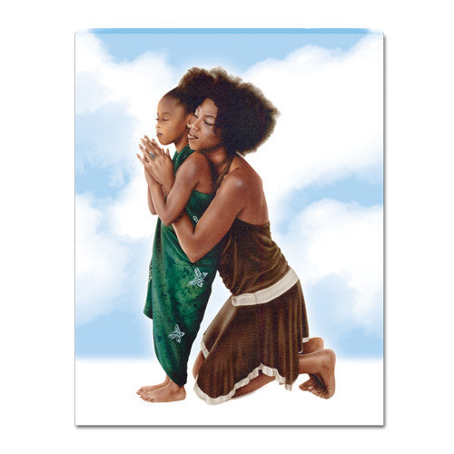 A Mother's Prayer Canvas Wall Hanging