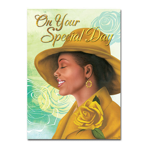On Your Special Day: African American Birthday Card by African American Expressions