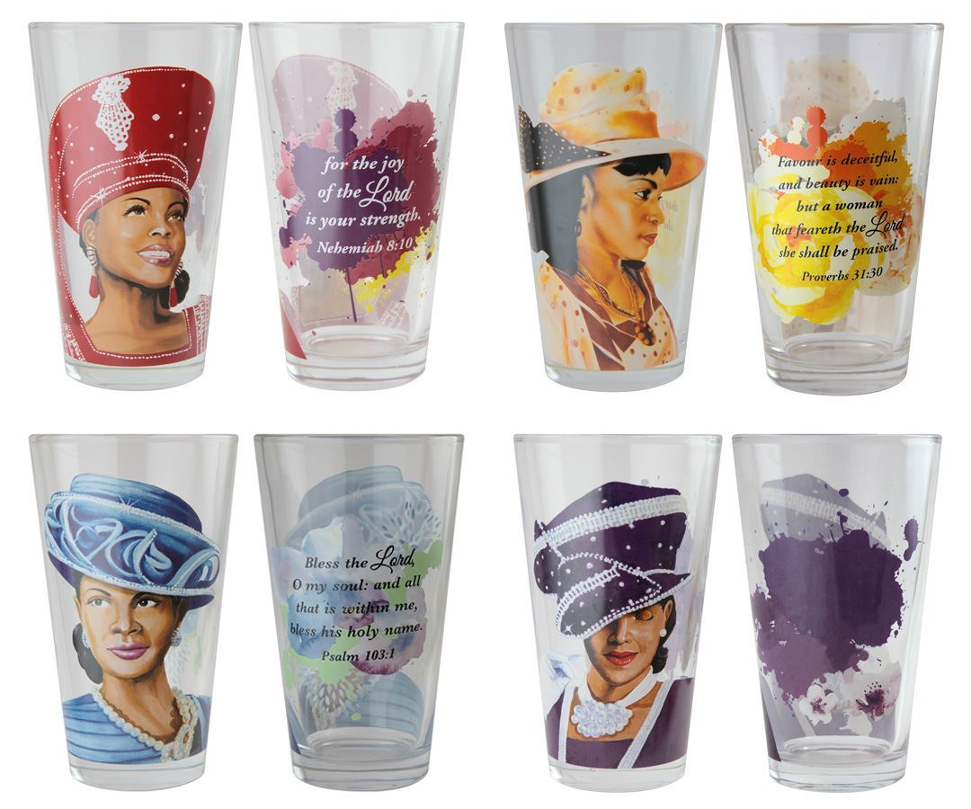Sunday Morning Collection: African American Drinking Glasses