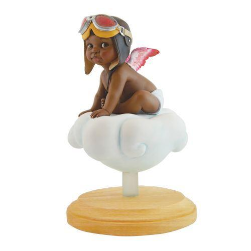 Little Pilot (Adorable Girl) by Thomas Blackshear (Angel Figurine)