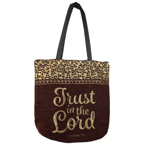 Trust in the Lord: Inspirational/Religious Tote Bag by African American Expressions