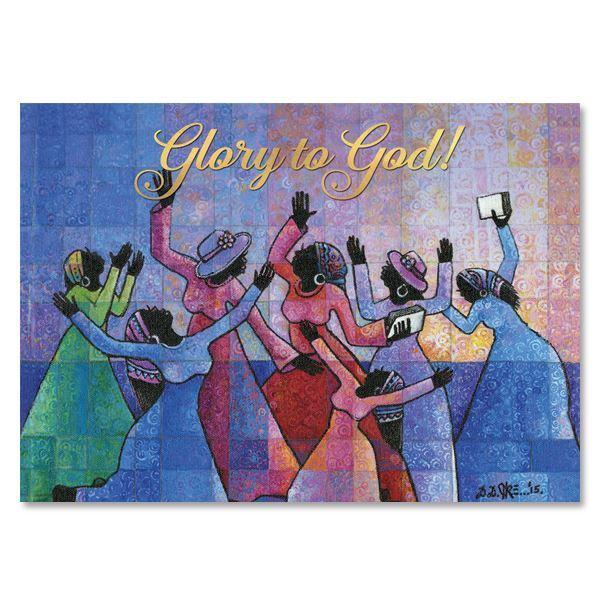 Glory to GOD: African American Christmas Card Box Set by D.D. Ike