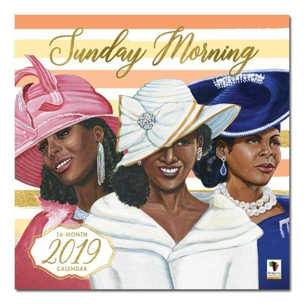Sunday Morning: Women of the Church (2019 African American Wall Calendar) (Front)