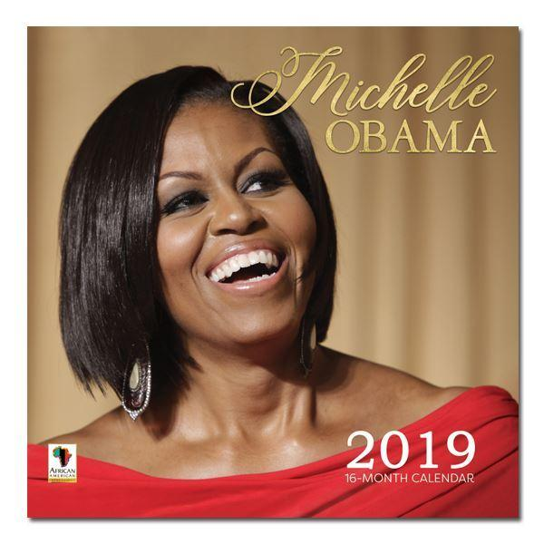 Obama Christmas Card 2019 Michelle Obama: Forever First Lady (2019 African American Calendar