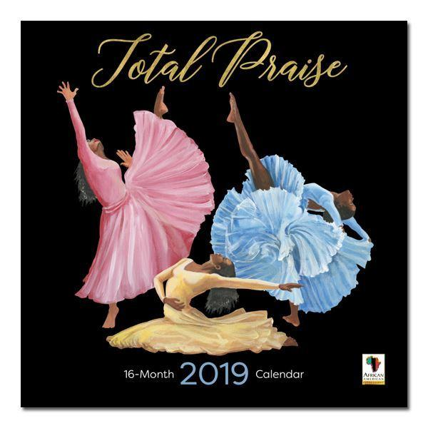 Total Praise: The Art of Keith Conner (2019 African American Calendar) (Front)