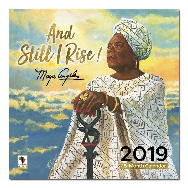 Maya Angelou: And Still I Rise (2019 African American Wall Calendar) (Front)