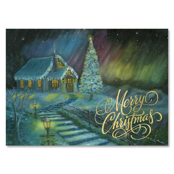 Christmas Cottage: Christmas Card Box Set by AAE