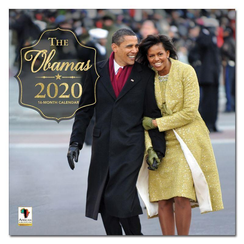 Remembering The Obamas: African American 2020 Wall Calendar