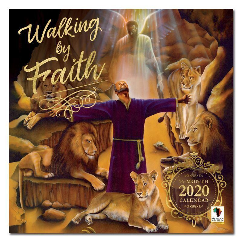 Walking by Faith by Keith Conner: African American 2020 Wall Calendar