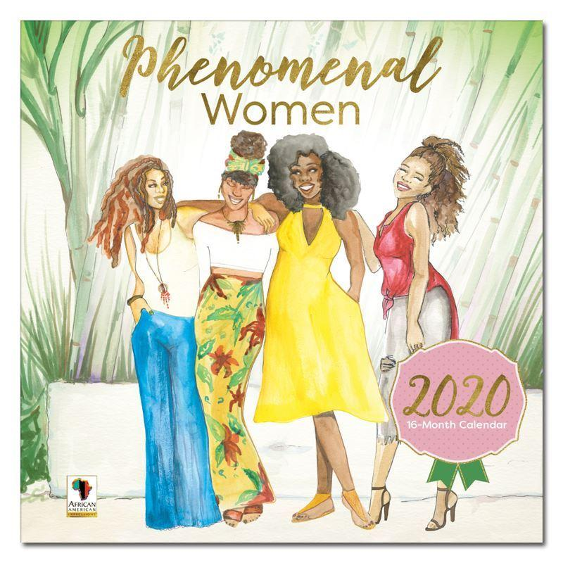 Phenomenal Women by Sarah Myles: African American 2020 Wall Calendar