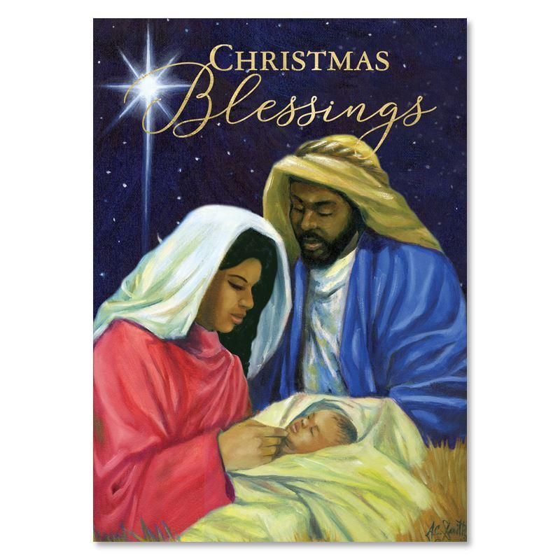 Christmas Blessings by A.C. Smith: African American Christmas Cards