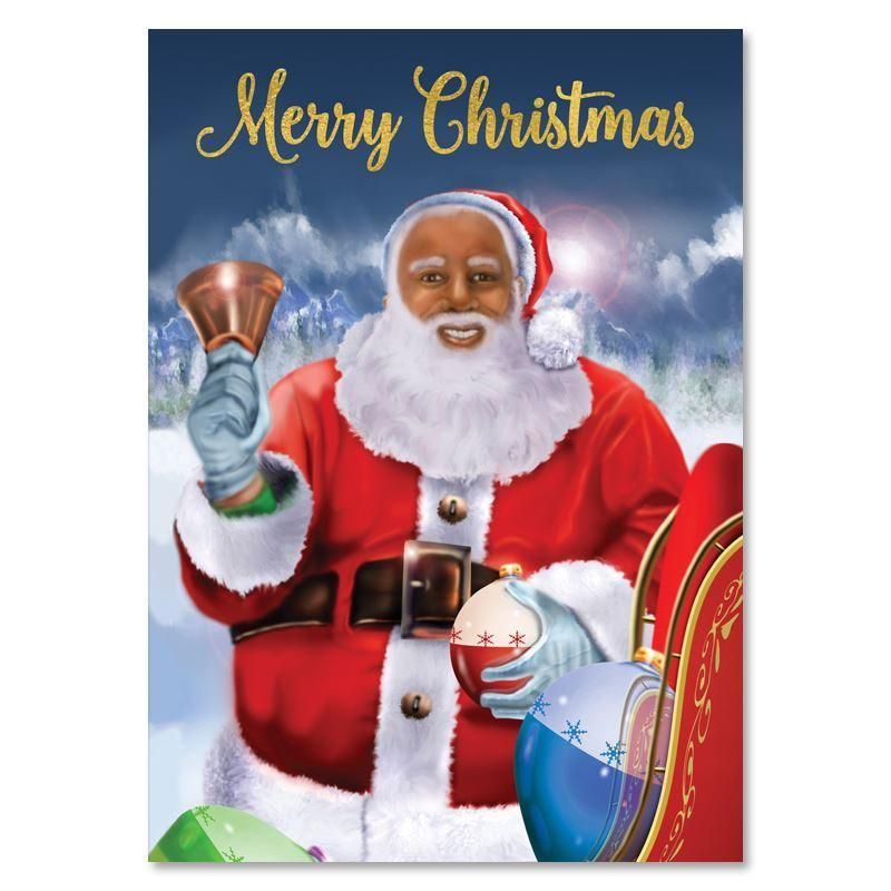 Santa's Christmas Wish: African American Christmas Card Box Set