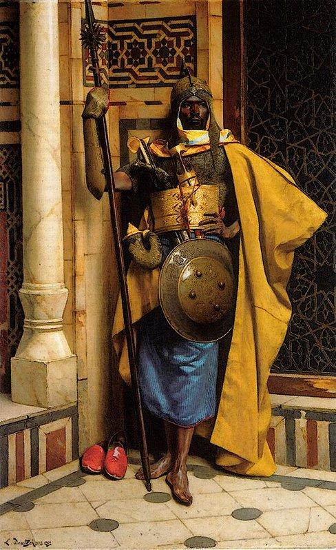 The Palace Guard (Black Moor) by Ludwig Deutsch