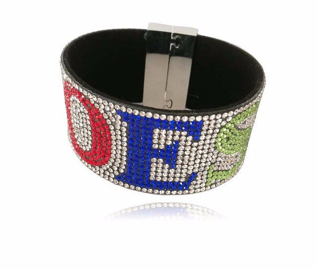 Order of the Eastern Star Bling Bracelet by The Masonic Depot