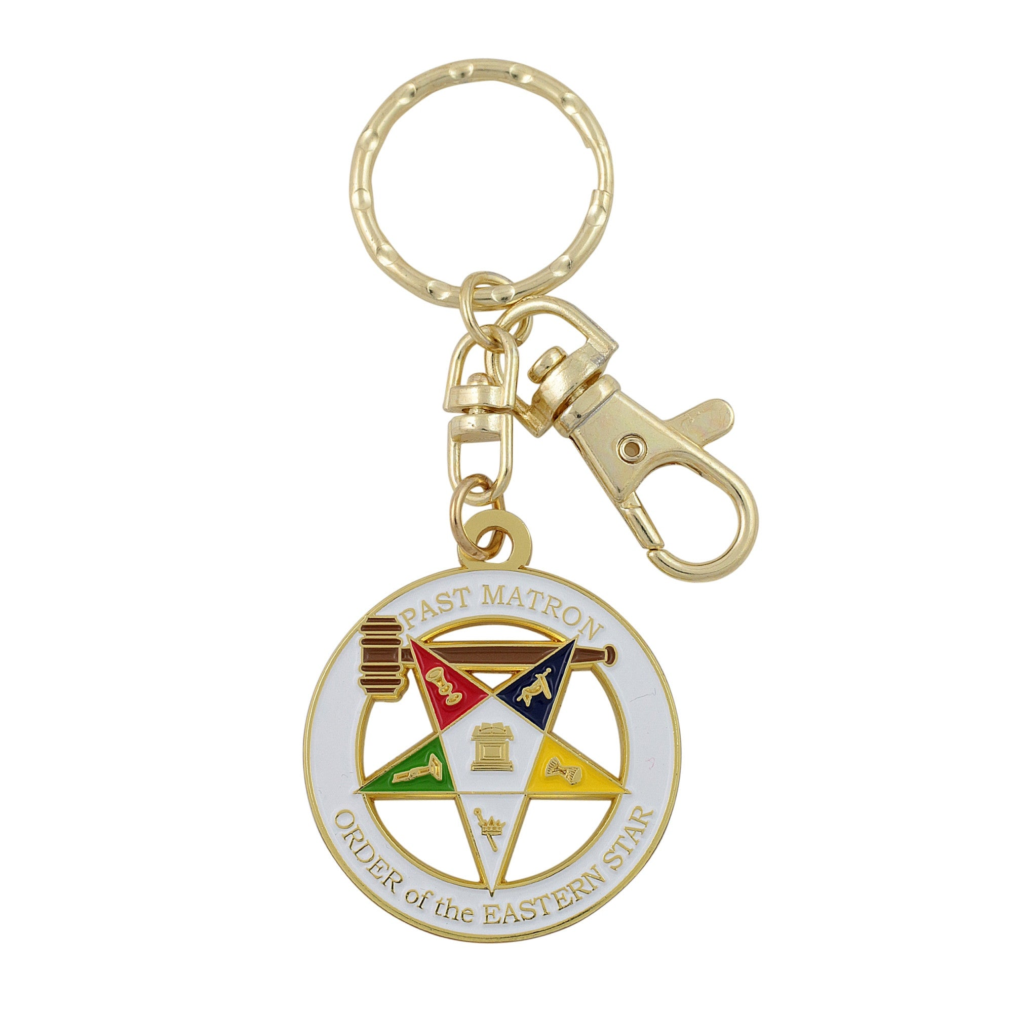 Past Matron Key Chain