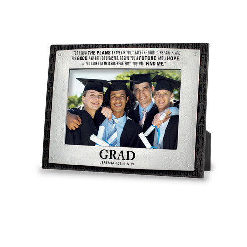 Graduation Photo Frame: Badge of Faith Series by LCP Gifts