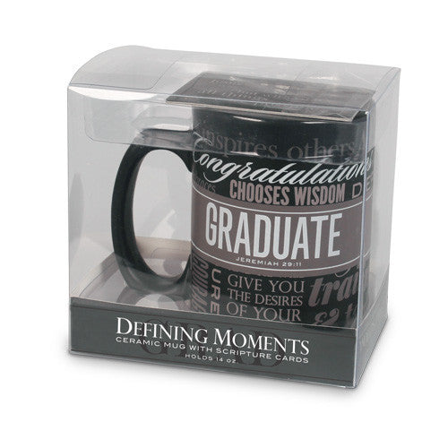 Graduation Mug: Defining Momemts Series by LCP Gifts